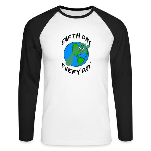 Earth Day Every Day - Männer Baseballshirt langarm
