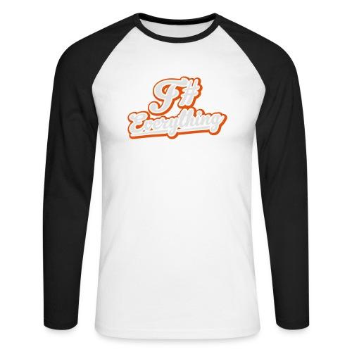 F# Everything - Men's Long Sleeve Baseball T-Shirt