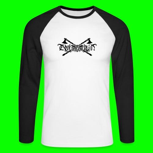 Grol Logo - Men's Long Sleeve Baseball T-Shirt