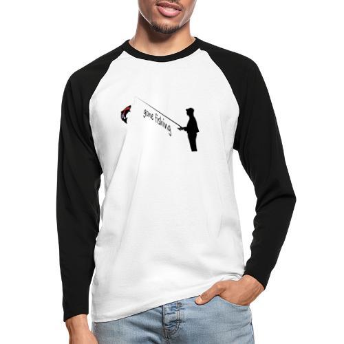 Angler - Männer Baseballshirt langarm