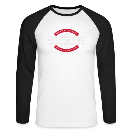 We whish you 1 - T-shirt baseball manches longues Homme