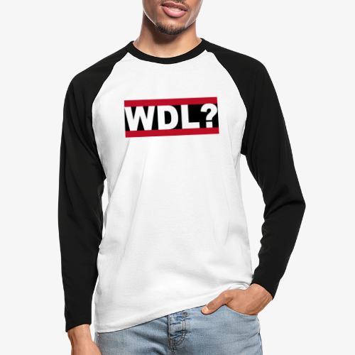WDL-3 - Männer Baseballshirt langarm
