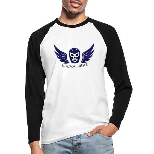Lucha Libre - T-shirt baseball manches longues Homme