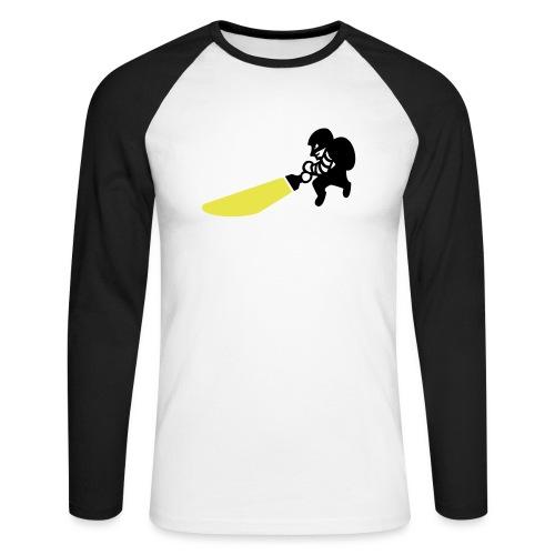 Dieb - Männer Baseballshirt langarm