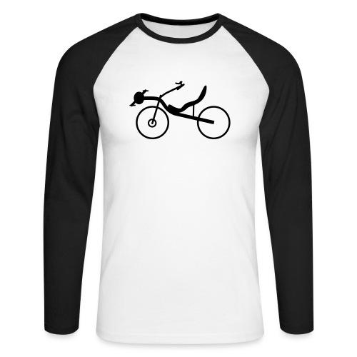 Raptobike - Männer Baseballshirt langarm