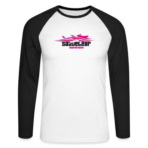 sauveteur aquatique - T-shirt baseball manches longues Homme