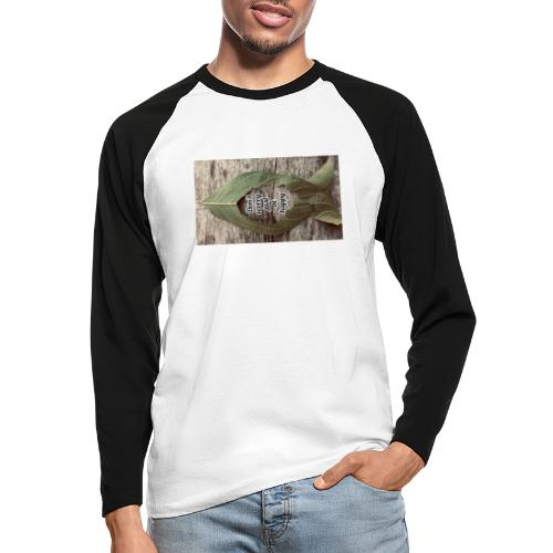 Don't worry just be Happy - Men's Long Sleeve Baseball T-Shirt