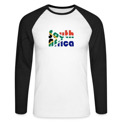 South Africa - Männer Baseballshirt langarm