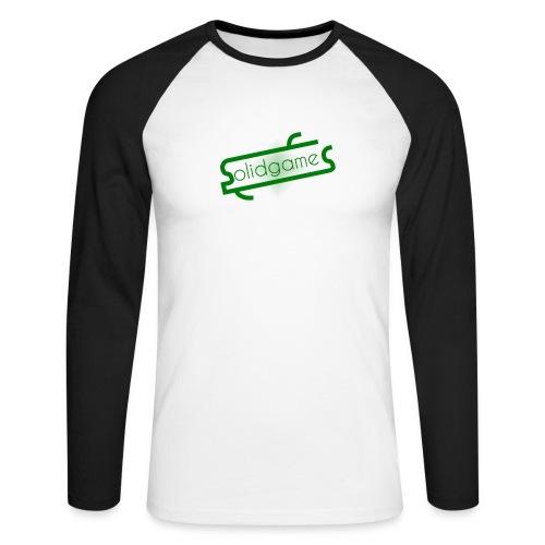 Solidgames Crewneck Grey - Men's Long Sleeve Baseball T-Shirt