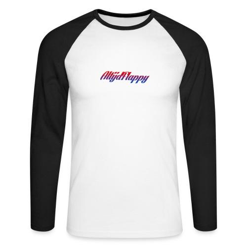 T-shirt AltijdFlappy - Mannen baseballshirt lange mouw