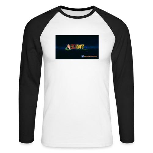 OhrBit Logo - Männer Baseballshirt langarm