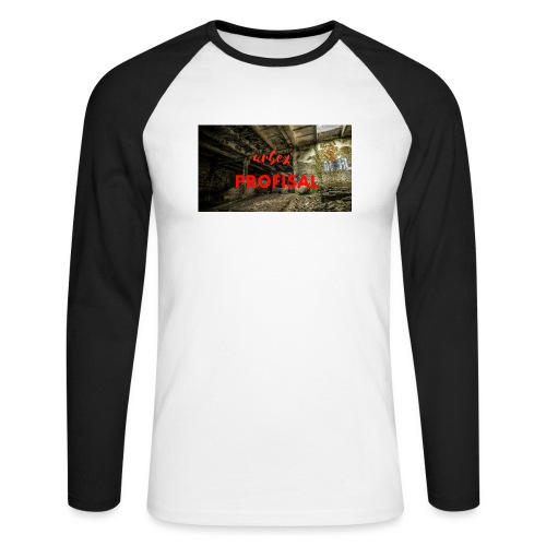 profisal - Koszulka męska bejsbolowa z długim rękawem