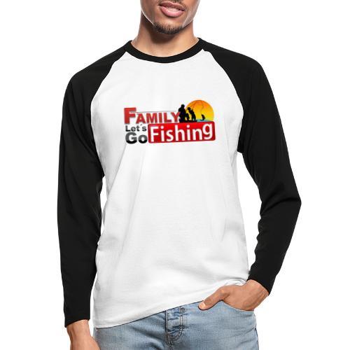 FAMILY LET´S GO FISHING FONDO - Raglán manga larga hombre