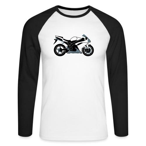 R1 07-on V2 - Men's Long Sleeve Baseball T-Shirt