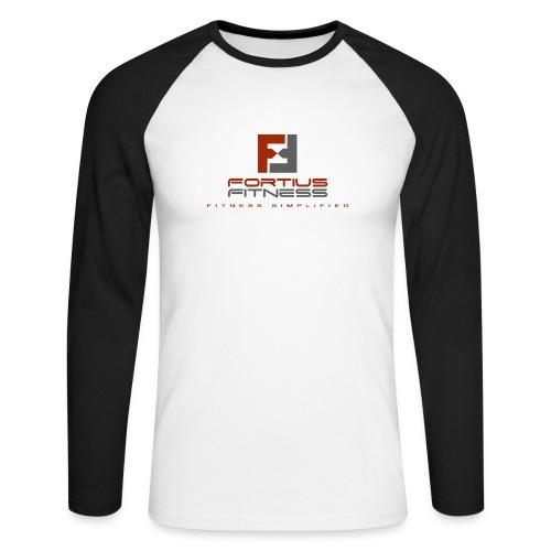 Fortius Fitness - Langærmet herre-baseballshirt