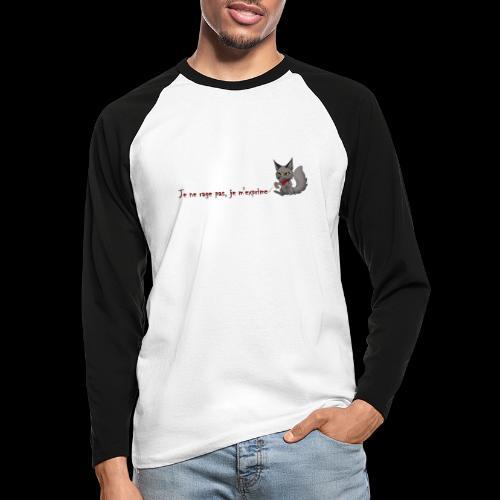 RavenWolfire Design - T-shirt baseball manches longues Homme