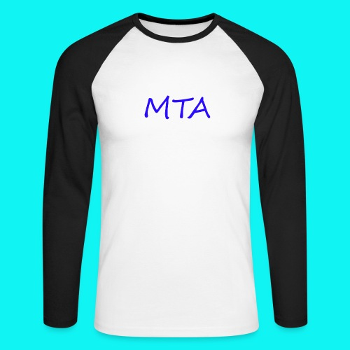 #MTA t-shirts - Langærmet herre-baseballshirt