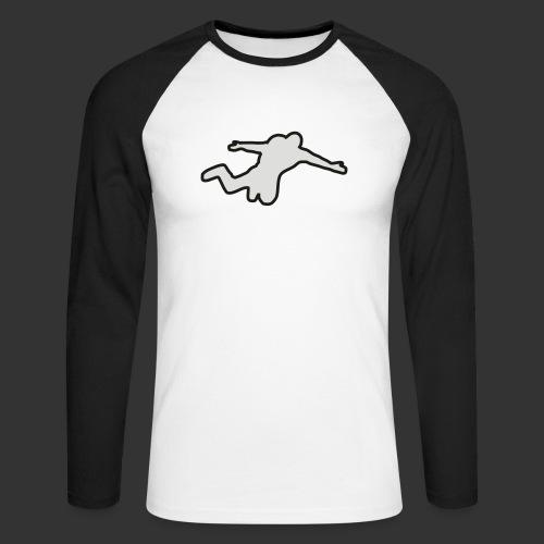 Basejump - Männer Baseballshirt langarm