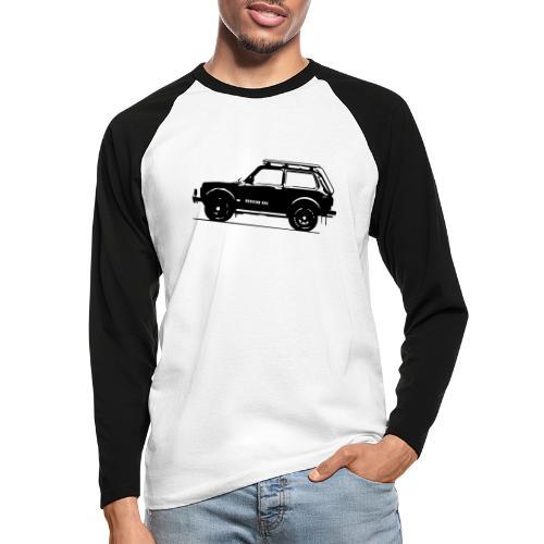 Lada Niva 2121 Russin 4x4 - Männer Baseballshirt langarm