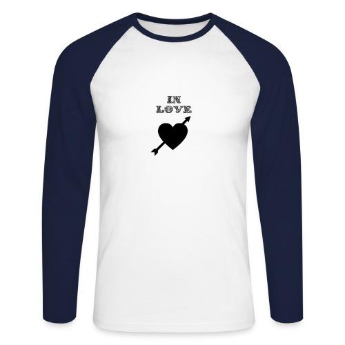 I'm In Love - Maglia da baseball a manica lunga da uomo