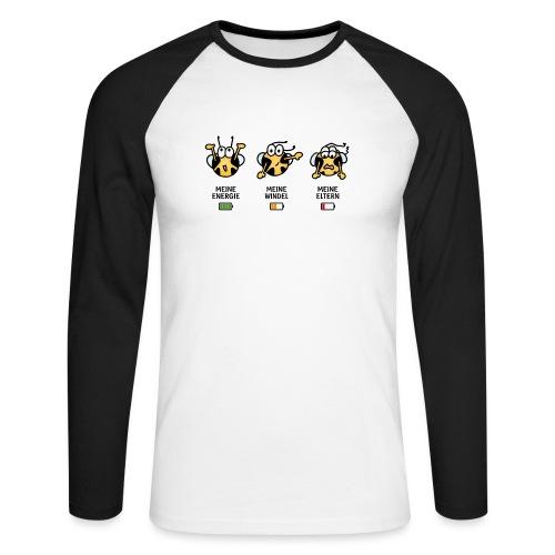 Babyindikator - Männer Baseballshirt langarm