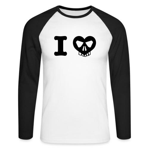 I Love... - Männer Baseballshirt langarm