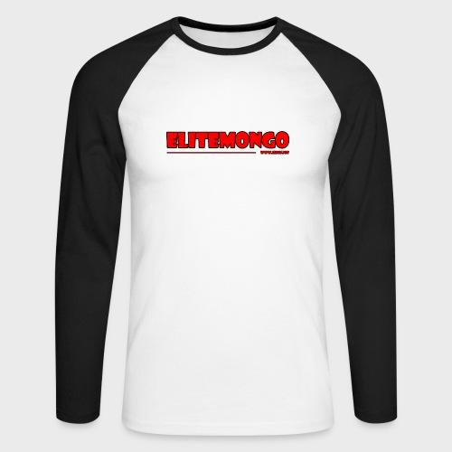 Elitemongo - Männer Baseballshirt langarm