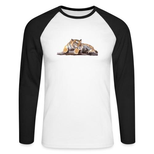 Tiger - Men's Long Sleeve Baseball T-Shirt