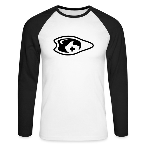 palme oeil lunette - T-shirt baseball manches longues Homme