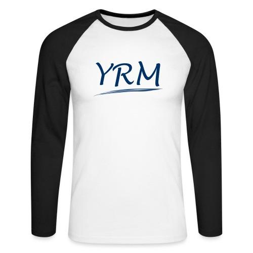 YRMSchriftzug - Männer Baseballshirt langarm