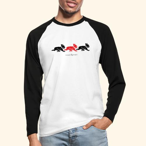 frenchies BR - T-shirt baseball manches longues Homme