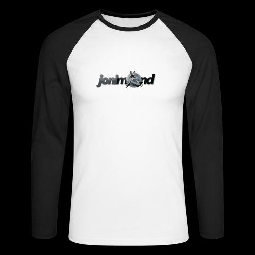 jonimond-sticker - Männer Baseballshirt langarm