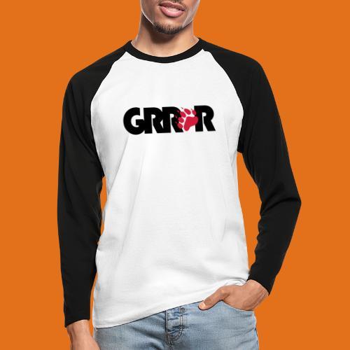 grrr2011 - Men's Long Sleeve Baseball T-Shirt
