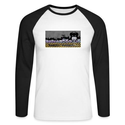 #MarchOfRobots ! LineUp Nr 2 - Langærmet herre-baseballshirt