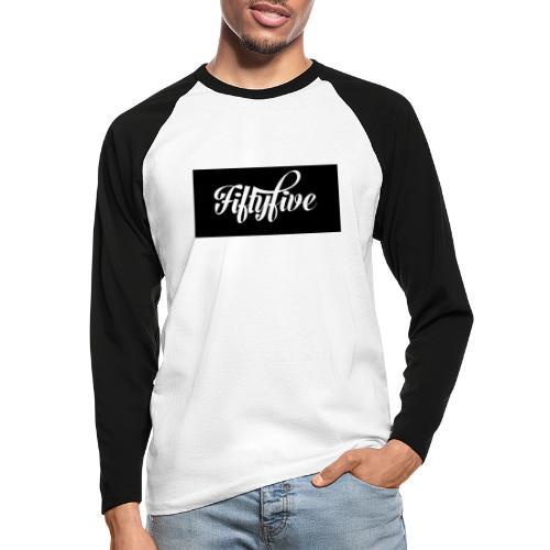 Fiftyfive - Miesten pitkähihainen baseballpaita