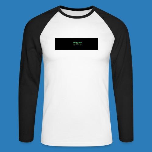 tetete-png - Langærmet herre-baseballshirt