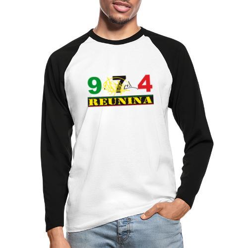 974 ker kreol ikon rasta 01 - T-shirt baseball manches longues Homme