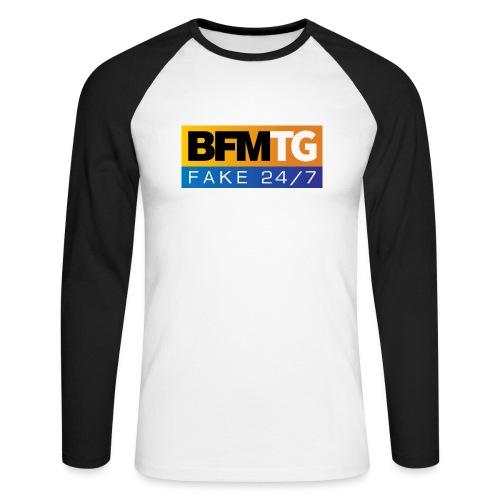 BFMTG - T-shirt baseball manches longues Homme