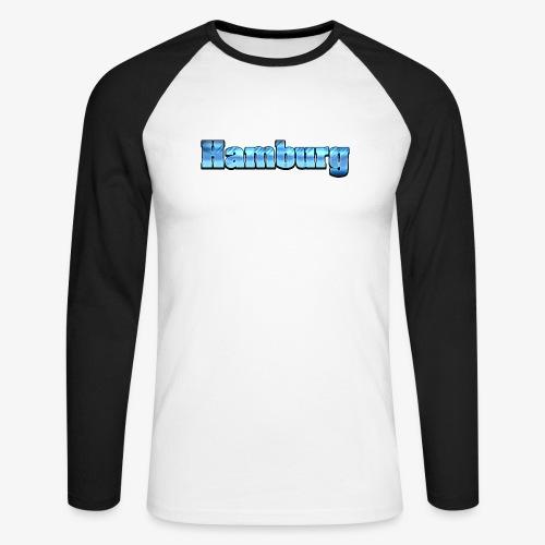 Hamburg - Männer Baseballshirt langarm