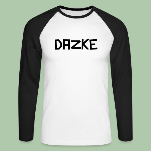 dazke_bunt - Männer Baseballshirt langarm