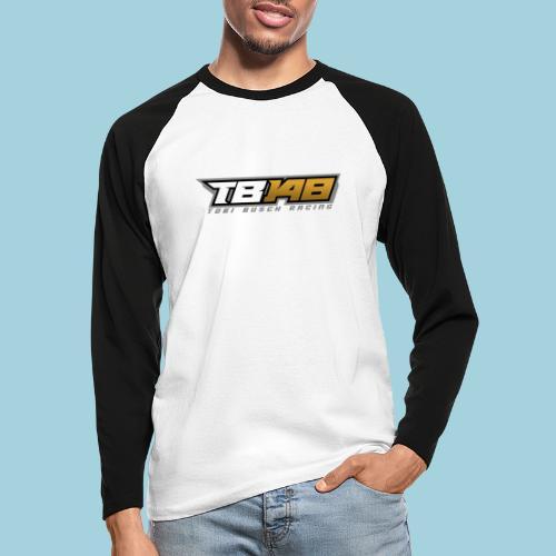 Tobi Logo Grau - Männer Baseballshirt langarm