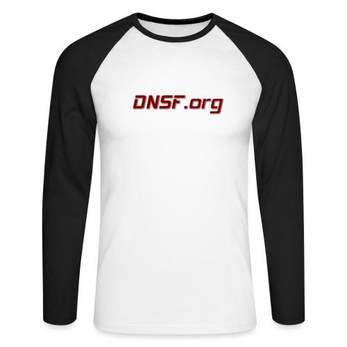 DNSF hotpäntsit - Miesten pitkähihainen baseballpaita