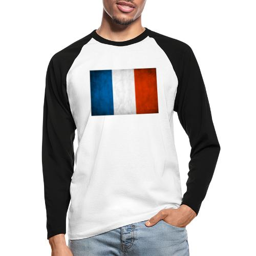 FRANCE - T-shirt baseball manches longues Homme
