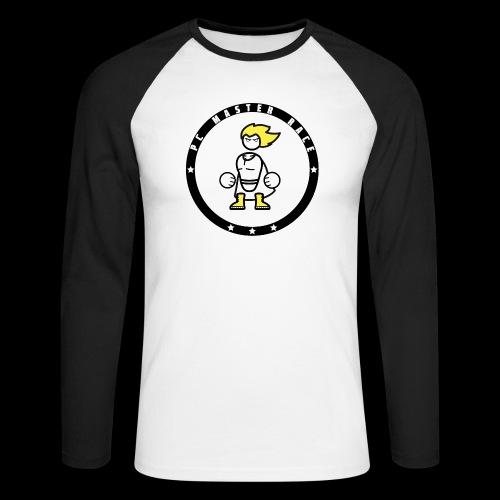 PC Master Race Emblem - Men's Long Sleeve Baseball T-Shirt