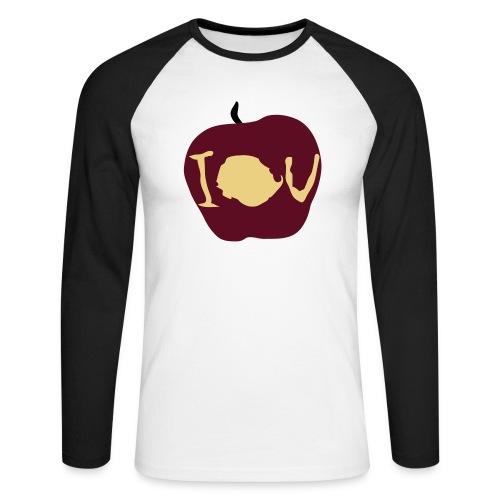 IOU (Sherlock) - Men's Long Sleeve Baseball T-Shirt