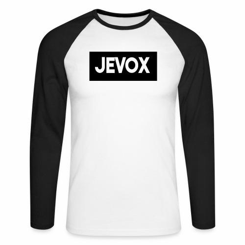 Jevox Black - Mannen baseballshirt lange mouw