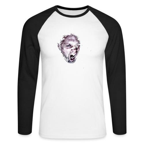 ikke1 png - Men's Long Sleeve Baseball T-Shirt