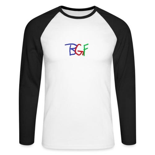 The OG BGF logo! - Men's Long Sleeve Baseball T-Shirt