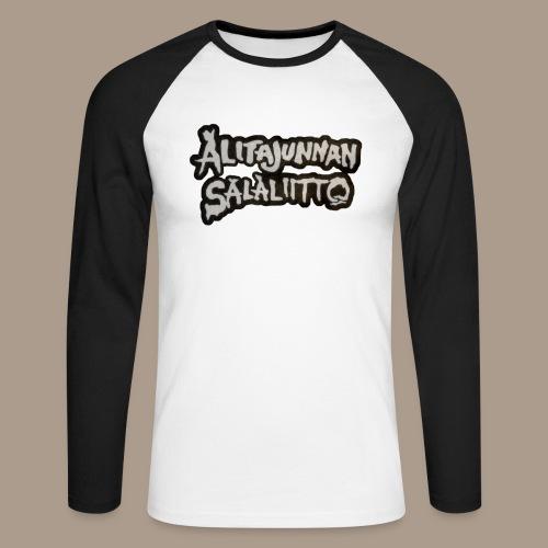 Alitajunnan Salaliitto - 2020 logo - Miesten pitkähihainen baseballpaita
