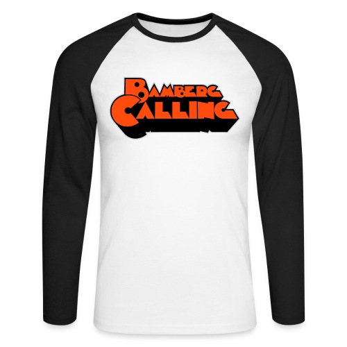 Bamberg Calling - Männer Baseballshirt langarm